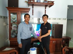 Lắp đặt dàn karaoke Alto cho gia đình anh Lợi ở Hóc Môn (Alto BLS12+, Alto AT700, Alto AK600, UGX12 Luxury)