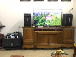 Lắp đặt dàn karaoke BIK cho gia đình cô Kiều ở Lam Sơn, Thanh Hóa (BIK BS-998NV, BIK BJ-W66Plus, BCE 9200+, Famous 7406, BCE UGX12)