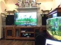 Lắp đặt dàn karaoke cho gia đình anh Hùng ở Tân Lập, Đan Phượng, HN (Domus DP6120, Famous 3206, X5 Plus, sub Paramax 1000, U900 Plus)