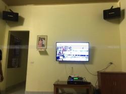 Lắp đặt dàn karaoke cho gia đình anh Huy ở Hiệp Hòa, Bắc Giang (BIK BJ-S886II, SAE CT6000, DSP9000, U900 Plus New)