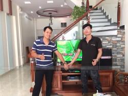 Lắp đặt dàn karaoke JBL cho gia đình anh Tiến ở Ngô Quyền, Hải Phòng (JBL ki510, BKsound DP-3500, U900 PlusX)