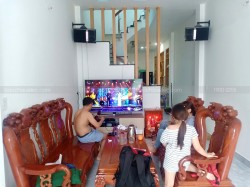 Lắp đặt dàn karaoke JBL cho gia đình anh Trinh ở Quận 12 (JBL ki510, Famous 3206, BCE 9200+, Jarguar 305)