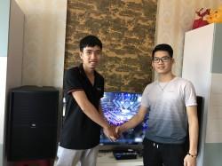 Lắp đặt dàn karaoke JBL cho gia đình anh Vinh ở Hải Phòng (JBL KP2015, BCE DP9200+, AAP TD6004, Hanet 1TB, UGX12 Gold)