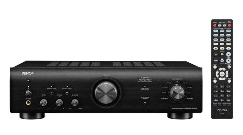 Amply Denon PMA-600NE thiết kế ấn tượng
