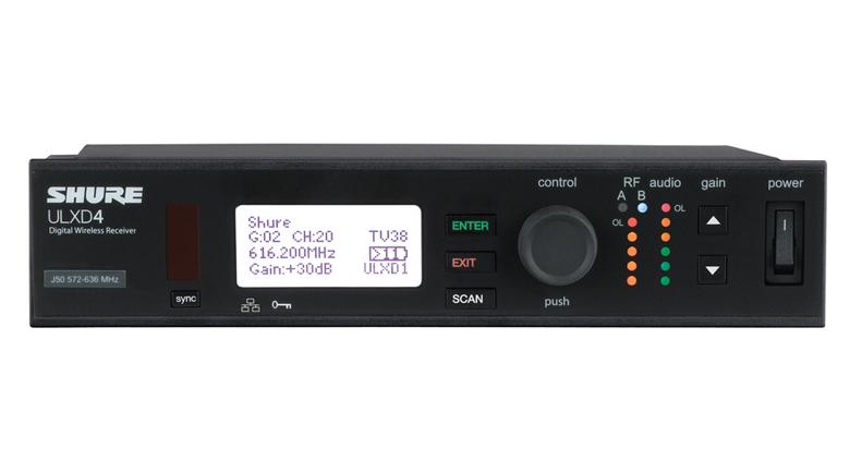 Bộ thu tín hiệu Shure ULXD4A