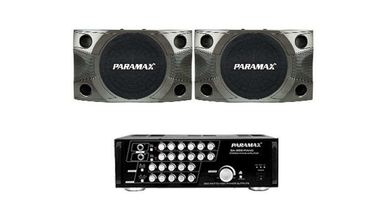 Combo Paramax 01 (P850 New + SA-888 Piano New)