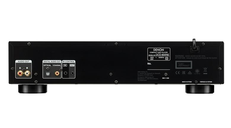 Đầu CD Denon DCD-800NE mặt sau