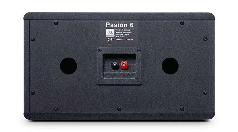 Mặt sau loa JBL Pasion 6F