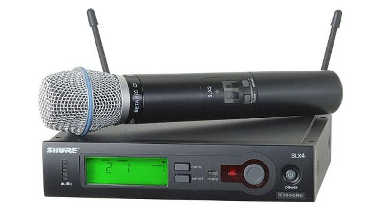 Micro Shure SLX24A/Beta87