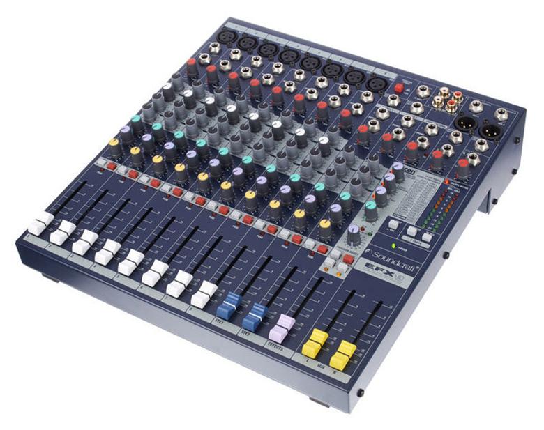 Mixer Soundcraft EFX8 (NK) trộn âm hoàn hảo