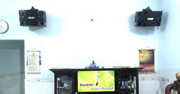 Dàn karaoke BMB cho gia đình anh Lưu ở Bình Chánh (BMB CSE312, SAE CT6000, DSP9000, U900 PlusX)