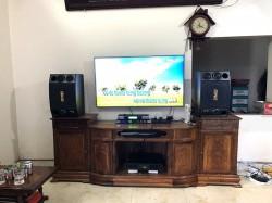 Dàn karaoke BMB của gia đình anh Chinh ở Chương Mỹ, HN (BMB 2000C, BCE 8200, JBL KX180, BCE UGX12 Luxury)