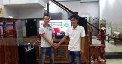 Dàn karaoke Domus cho gia đình anh Thương ở Nhơn Trạch, Đồng Nai (Domus 6120, BF V18S, Famous 7406, JBL KX180, BCE UGX12)