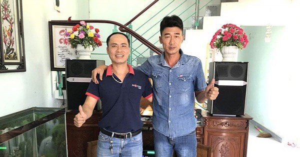 Dàn karaoke JBL cho gia đình anh Nam ở Tiên Lãng, Hải Phòng (JBL Ki512, AAP TD8004, FX-9MK, UGX12 luxury)