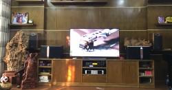 Dàn karaoke JBL gia đình anh Thắng ở Thanh Trì, HN (JBL Ki510, Famous 7406, X5 Plus, UGX12 Gold)