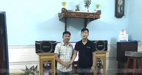 Dàn karaoke Paramax cho gia đình anh Lương ở Biên Hòa (Paramax D1000, Bksound DP3500, EU900MH Black)