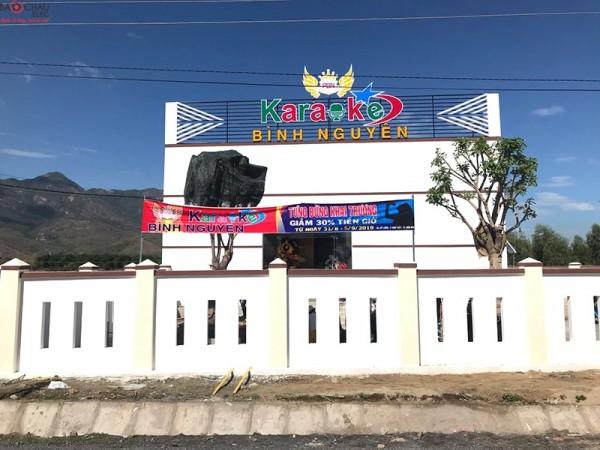 Lắp đặt 4 phòng hát karaoke kinh doanh cho quán karaoke Bình Nguyên ở Nha Trang (Domus DP6120, Alto TS312, Famous 7406, BCE DP9200+)