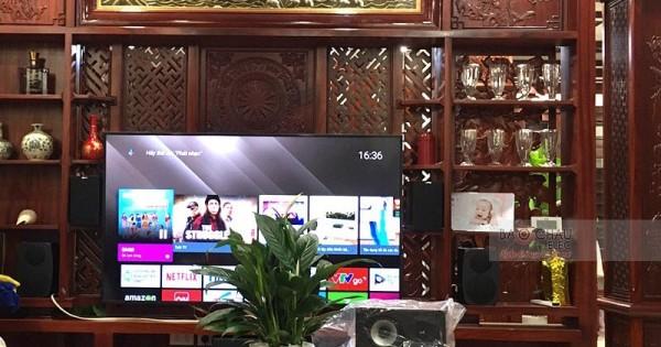 Lắp đặt bộ dàn âm thanh xem phim cho anh Hùng ở TP. Bắc Ninh (Jamo S628 HCS, Jamo C91, Jamo J10, AVR-X2600H)