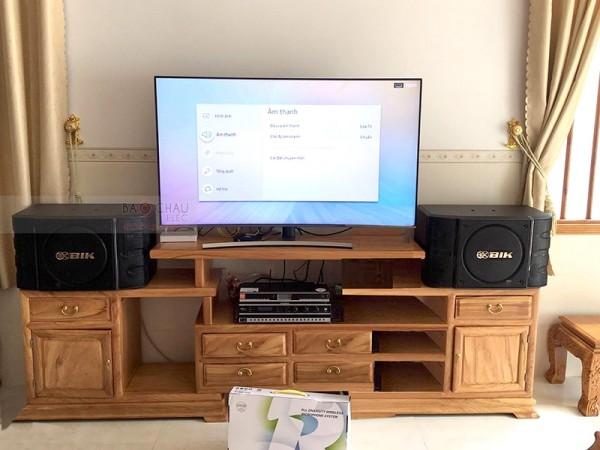 Lắp đặt bộ dàn karaoke BIK cho gia đình anh Danh ở Trảng Bom, Đồng Nai (BIK BS999X, BKsound DP3500, BBS B900)