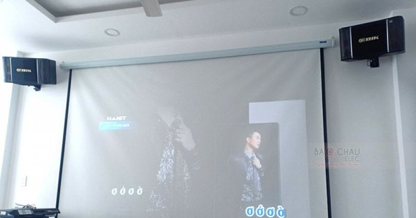 Lắp đặt dàn karaoke BIK cho gia đình chị Bình ở quận Tân Bình (BIK BJ-S768, X5 Plus, SAE CT3000, BCE UGX12)