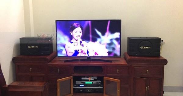 Lắp đặt dàn karaoke cho gia đình anh Nhâm ở Hiệp Hòa, Bắc Giang (BIK BJ-S668, DSP-9000, SAE CT3000, U900Plus New)
