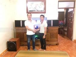 Lắp đặt dàn karaoke cho gia đình anh Quyền ở Kiến Thụy, Hải Phòng (JBL Ki512, Paramax 2000, AAP TD6004, X5 Plus, BCE UGX12)