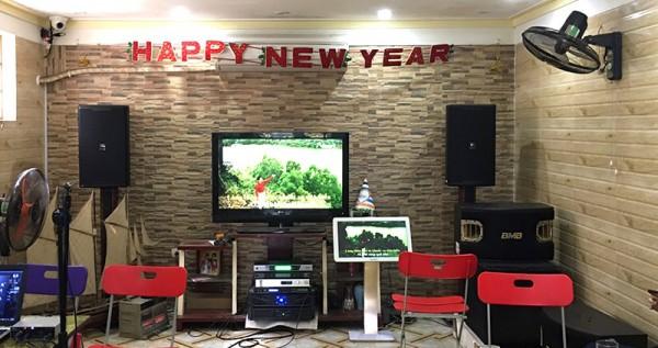Lắp đặt dàn karaoke cho quán cafe Bảo Dương ở Bắc Giang (KP6012, 900SE, R115SW, Xli2500,P-6200,9200+, Plus 3TB, UGX12)