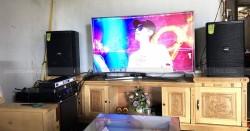 Lắp đặt dàn karaoke Domus cho gia đình anh Hà ở Lào Cai (Domus 6120, AAP TD8004, JBL KX180)