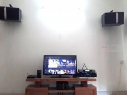 Lắp đặt dàn karaoke JBL cho gia đình anh Hùng ở Hạ Long (JBL Ki512, JBL KX180, AAP TD8004, UGX12 Luxury)