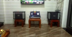 Lắp đặt dàn karaoke JBL cho gia đình anh Ngọc ở Hà Huy Tập (JBL RM10II, BKsound 3500, BBS B900)