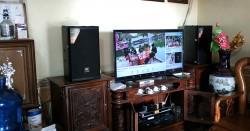 Lắp đặt dàn karaoke JBL cho gia đình chú Sang ở Đan Phượng (JBL MTS10, SAE CT6000, X5 Plus, BBS B900)