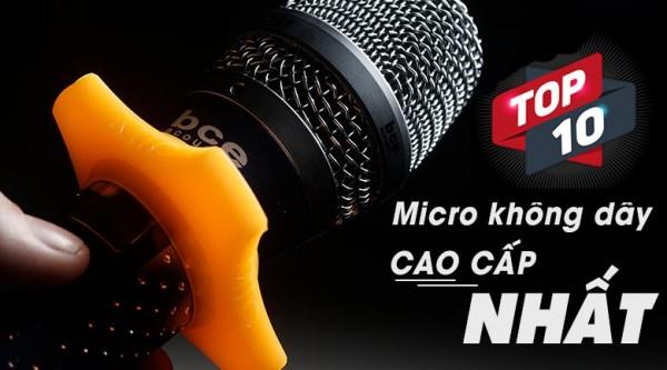 Top 10 Micro karaoke không dây hay nhất hiện nay