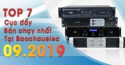 Top 7 cục đẩy công suất bán chạy nhất Bảo Châu Elec tháng 9/2019