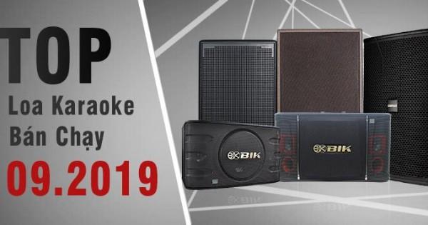 Top 7 dòng loa karaoke bán chạy nhất tại Bảo Châu Elec tháng 09/2019