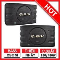 Loa karaoke Nhật BIK BJ S668 (bass 25cm)