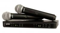 Micro Shure BLX288A/SM58 (2micro)
