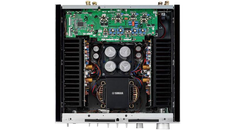 Amply Yamaha A-S1100 Silver với thiết kế hoàn hảo để có âm thanh ra lý tưởng