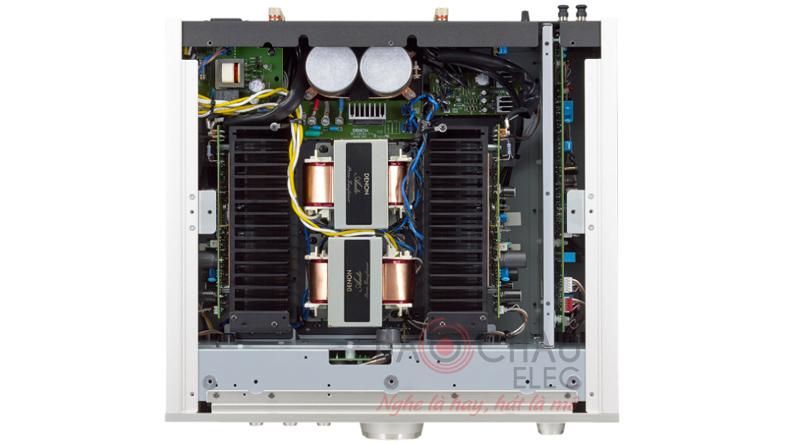 Thiết kế bên trong của amply Denon PMA 2500NE