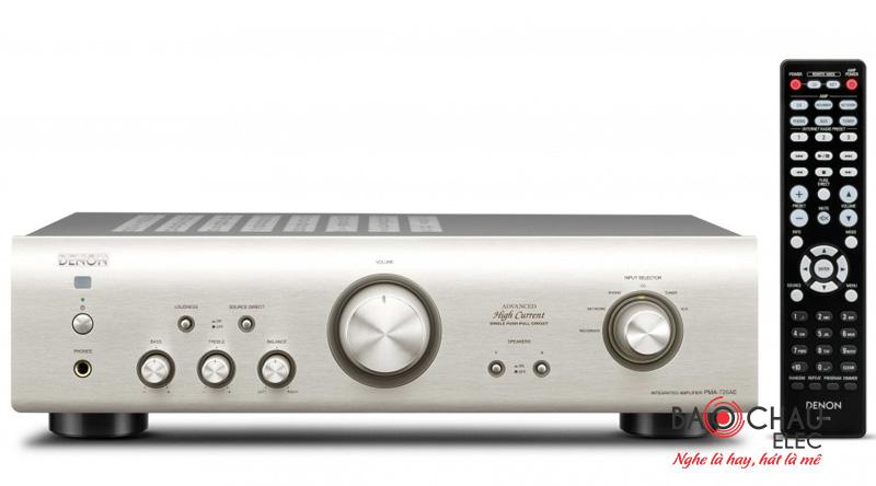 Amply Denon PMA 720AElà một trong những chiếc amply nghe nhạc gia đình hay, rất được ưa chuộng thuộc hãng Denon Nhật Bản