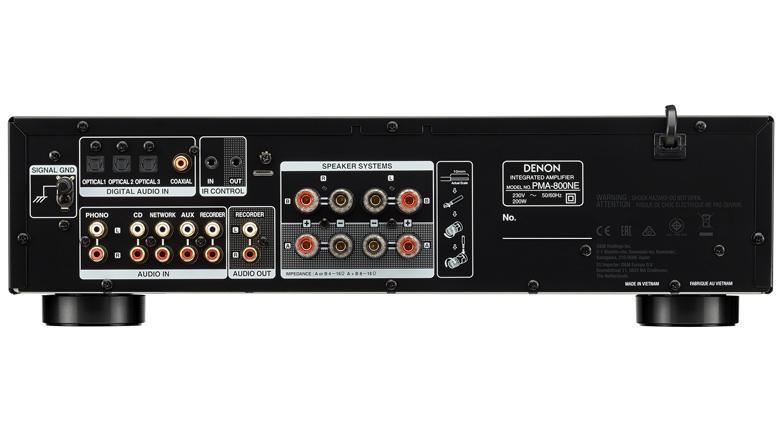 Amply Denon PMA-800NE mặt sau