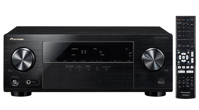 Amply nghe nhạc Pioneer VSX-330 chính hãng