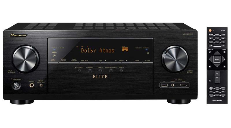 Amply nghe nhạc Pioneer VSX-LX303 kết nối đa dạng