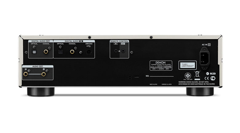 Đầu phát nhạc Denon DCD-1520AE