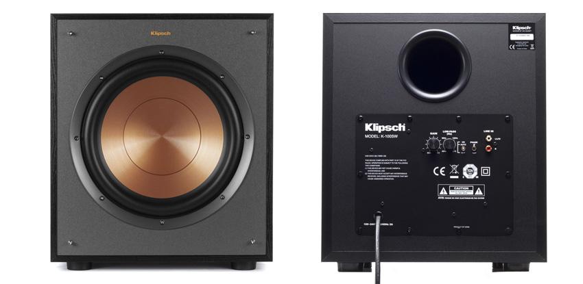 Loa Sub điện Klipsch R100SW (bass 25)