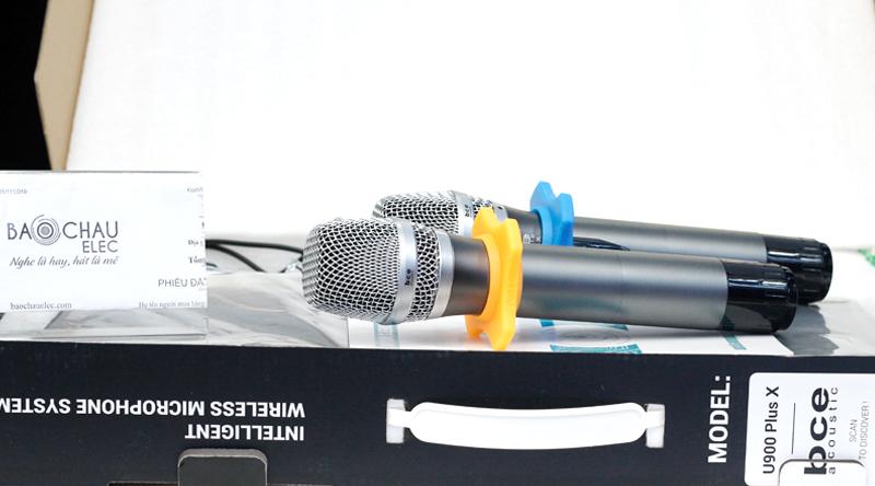 Micro không dây BCE U900 Plus X-1