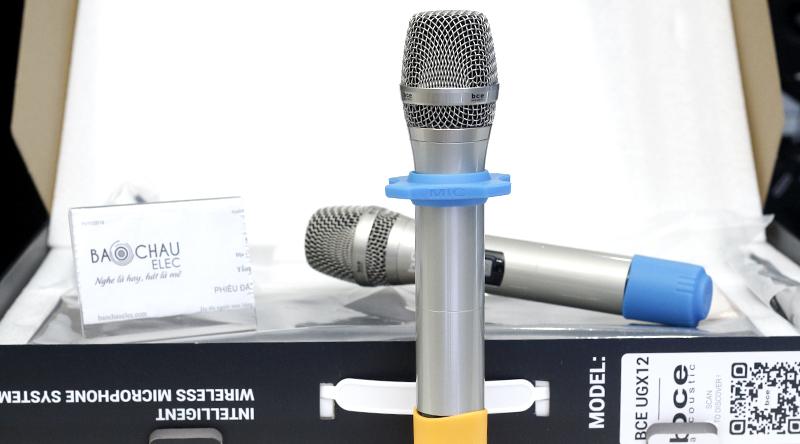 Micro không dây BCE UGX12-2