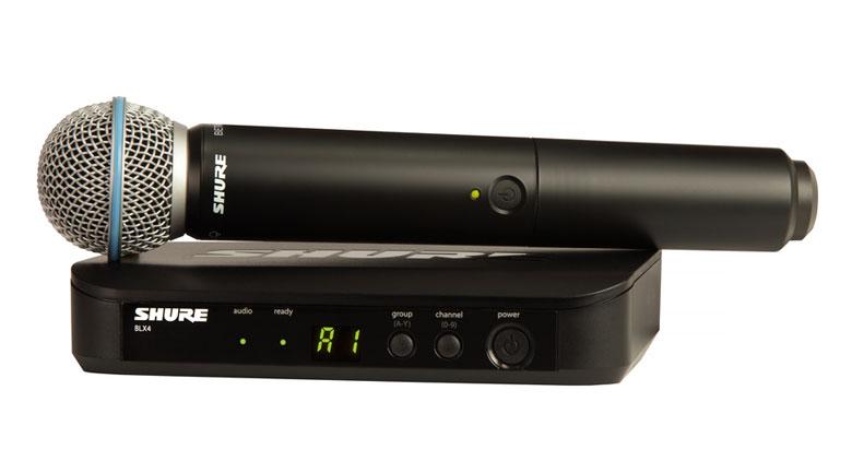 Micro Shure BLX24A/B58 (1micro)