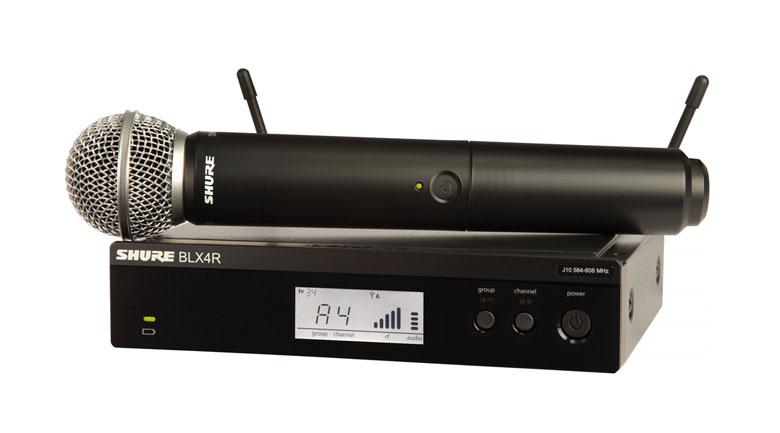 Micro Shure BLX24RA/SM58