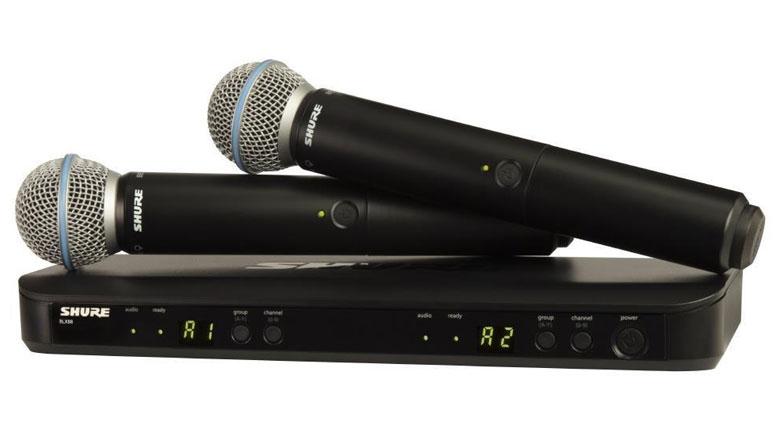 Micro Shure BLX288A/B58