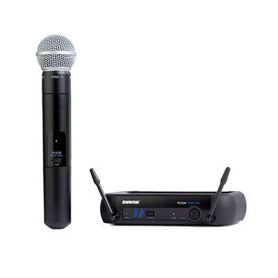 Bộ micro không dây Shure SVX24E/PG58